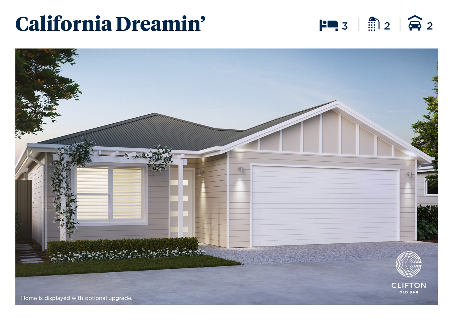 California Dreamin' large 3 bedroom home at Clifton Old Bar