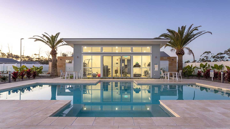 clifton retirement living pool